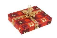Chrismas present. A red christmas present box Stock Images