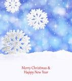 Chrismas snowflakes Stock Photo