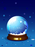 Chrismas snowglobe Royalty Free Stock Photos