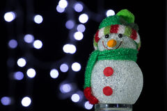 Chrismas snowman Royalty Free Stock Image
