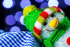 Chrismas snowman Stock Photography