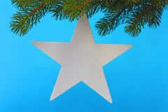 Chrismas star Royalty Free Stock Photography