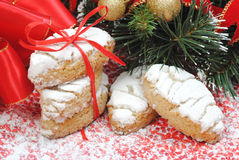 Chrismas sweets, cookies Royalty Free Stock Images