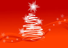 Chrismas tree Royalty Free Stock Images