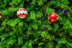 Chrismas tree for background Royalty Free Stock Images