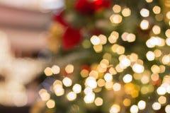 Chrismas Tree Bokeh Royalty Free Stock Photos
