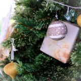 Chrismas tree and Gifts. Happy new year Stock Photos