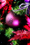 Purple ornament Royalty Free Stock Photography