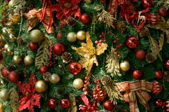 Chrismas tree's decoration Royalty Free Stock Photos