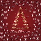 Chrismas wallpaper. Christmas greeting card - vector background vector illustration