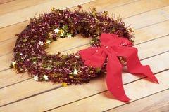 Chrismas wreath Stock Image