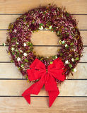 Chrismas wreath Royalty Free Stock Photos