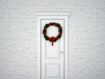Chrismas wreath Royalty Free Stock Photography