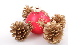 Chrismass ball Royalty Free Stock Photography