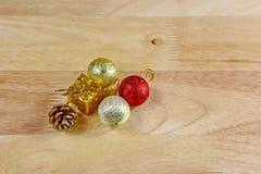 Chrismasstuk speelgoed decoratie Royalty-vrije Stock Foto's