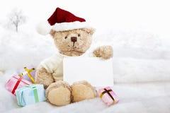 Chrismast bears Royalty Free Stock Images