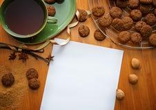 Chrismtas甜点 免版税库存照片