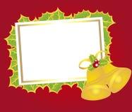 Chrismtas do cartão em branco Fotos de Stock Royalty Free