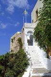 Chrisoskalistissa monastery in Crete, Greece stock photo