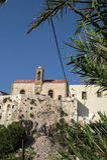 Chrisoskalitissa monastry. In crete in greece Royalty Free Stock Photography