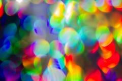 Chrisrmas De fokussierte Leuchte Lizenzfreies Stockbild
