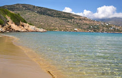 Chrissi Ammos beach Andros island Greece Stock Image