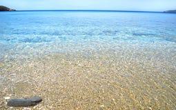Chrissi Ammos beach Andros island Greece Stock Photography