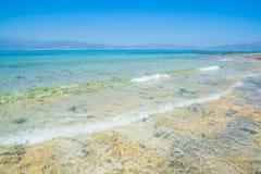 Chrissi wyspy Crete plaża Obrazy Royalty Free