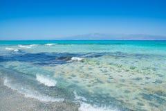 Chrissi wyspy Crete plaża Obrazy Stock