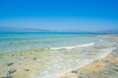 Chrissi wyspy Crete plaża Obraz Royalty Free