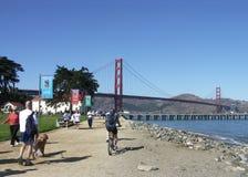 Chrissy Field, San Francisco, California stock photo