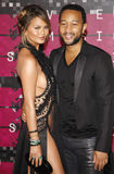 Chrissy Teigen en John Legend Royalty-vrije Stock Foto