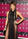 Chrissy Teigen. LOS ANGELES, CA - AUGUST 30, 2015: Chrissy Teigen at the 2015 MTV Video Music Awards held at the Microsoft Theater in Los Angeles, USA on August Stock Photo