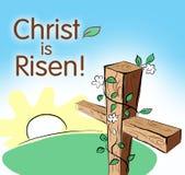 Christ é levantado Fotografia de Stock