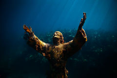 Christ of the Abyss Royalty Free Stock Photo