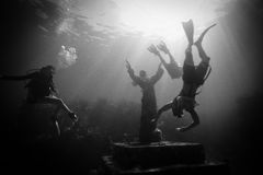 Christ of the Abyss in Key Largo, FL Royalty Free Stock Photos
