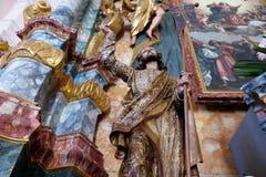 Christ aumentato Fotografia Stock Libera da Diritti