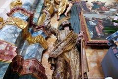 Christ aumentato Fotografia Stock
