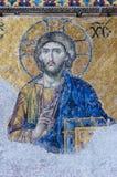 christ bildjesus mosaik Arkivfoto