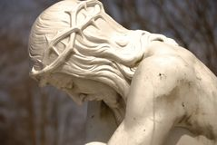 Christ caduto Fotografie Stock Libere da Diritti
