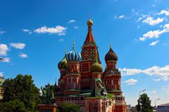 Christ a catedral do salvador em Moscovo Imagens de Stock Royalty Free
