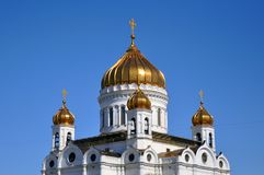 Christ a catedral do salvador em Moscovo, R?ssia imagem de stock royalty free