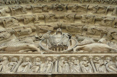 Christ at Chartres Stock Image