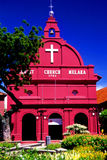 Christ Church. Is located at Bandar Hilir in Malacca, Malaysia Stock Images