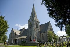 Christ Church. In the Parish of Prestatyn North Wales Stock Photos