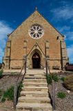 Christ Church anglican church in Castlemaine Royalty Free Stock Photos