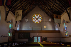 Christ Church anglican church in Castlemaine Royalty Free Stock Photo