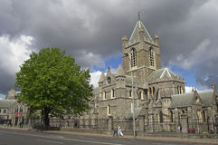 Christ Church Cathedral. The Cathedral of the Most Holy Trinity, Dublin, Ireland Royalty Free Stock Photos
