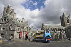 Christ Church Cathedral. The Cathedral of the Most Holy Trinity, Dublin, Ireland Stock Images
