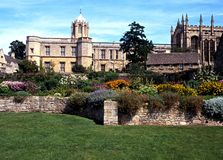 Christ church Cathedral and college, Oxford. Royalty Free Stock Photography